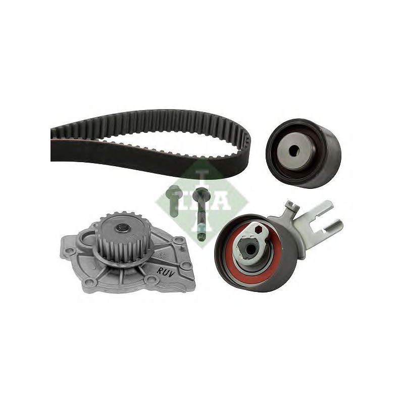 Volvo V50 2.4 D5 132kW timing belt water pump kit conti CT1010WP1