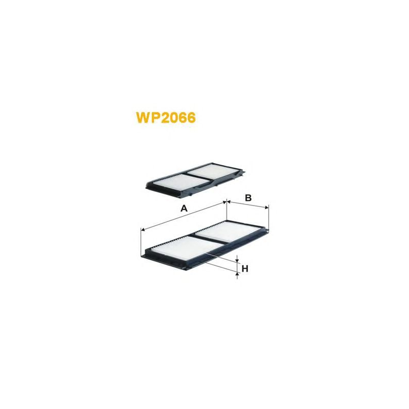 Details about Cabin Air Filter WIX Filters WP2066 Mazda